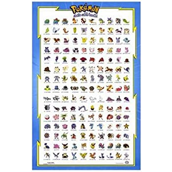 Pokemon the first movie movie poster 11 x for Print posters online cheap