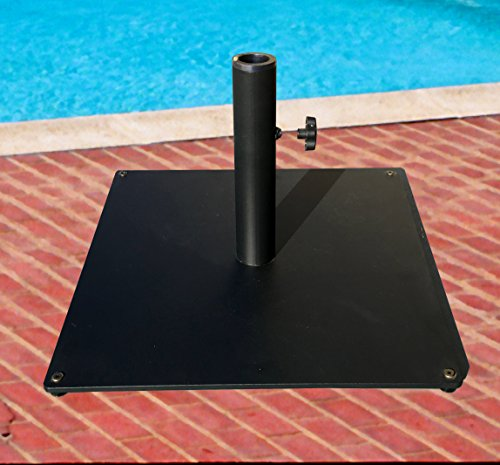 Tropishade Steel Plate Umbrella Base, 36 lbs, Black by Tropishade (Image #3)
