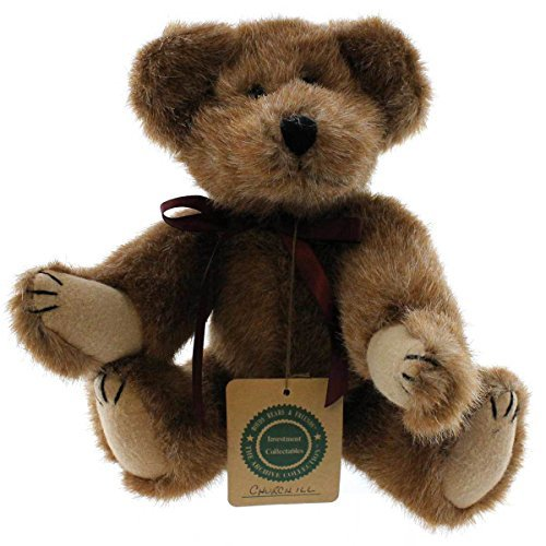 Boyds Bears Plush CHURCHILL Fabric Archive Bear 5700