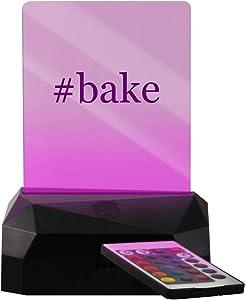 #Bake - Hashtag LED USB Rechargeable Edge Lit Sign