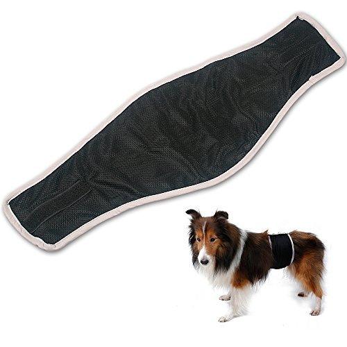 Oneisall waschbar Haustier männlichen Hunde Hundewindeln Belly Wrap Wiederverwendbare Sanitär Windel Physiologische Unterwäche für die Ausbildung