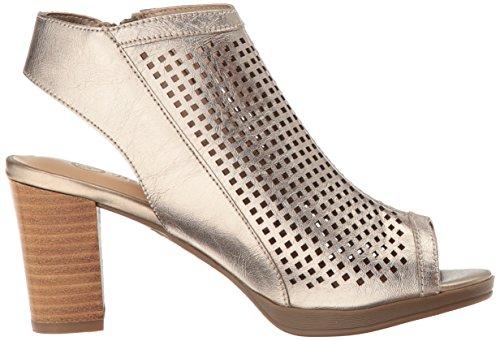 Bella Vita Kvinnor Lenore Klack Sandal Champagne Läder