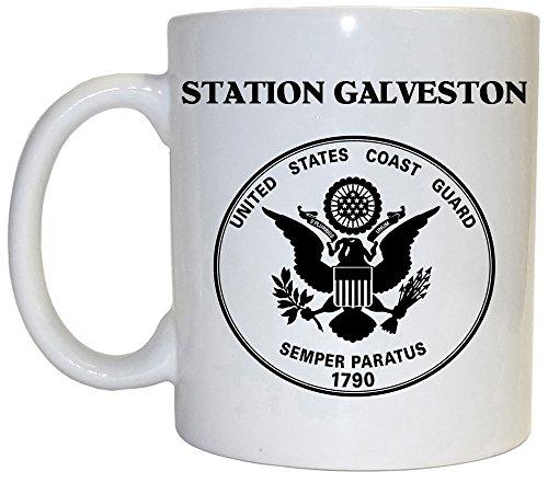 Mug Guard Coast (Station Galveston - US Coast Guard Mug, 1028)