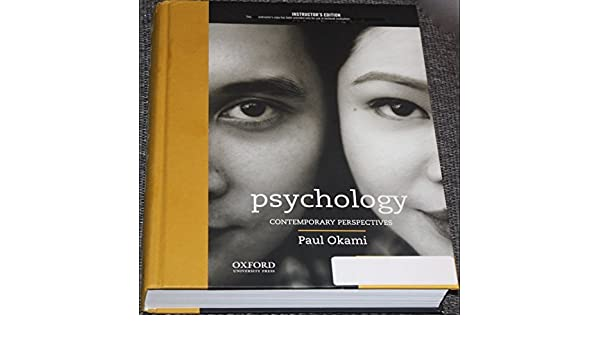 Ebook psychology okami perspectives download paul contemporary