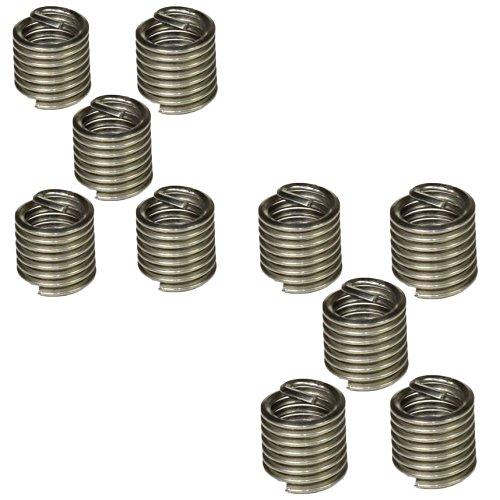 AB Tools-Unithread Tipo de Insertos Helicoil reparaci/ón de roscas de 1//4 Pulgada x BSF 1,5D 10PC Cable Inserto de Rosca