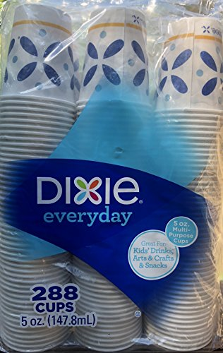 Dixie Cold 5-oz. Paper Cups, 288 ct