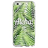 Shark Summer Collection Tropical ALOHA Hawaii Travel TPU case For (iPhone 6 Plus-Plam02)