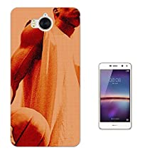 003067 - Basketball player illustration Design Huawei Y6 (2017) Fashion Trend CASE Gel Rubber Silicone All Edges Protection Case Cover