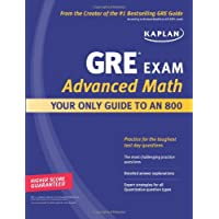 Kaplan GRE Exam Advanced Math Workbook: Intensive Prep for Top Students