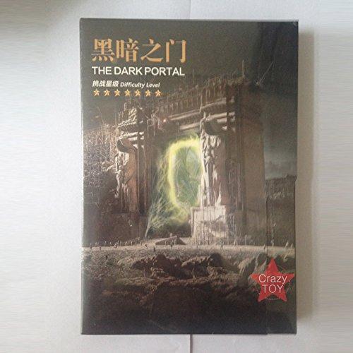 Picture Kingdom World of Warcraft The Dark Portal Model Kits Kits Kits PJ158 DIY 3D Metall Puzzle Laserschnitt Modell-Bausatz Spielzeug 3e5914