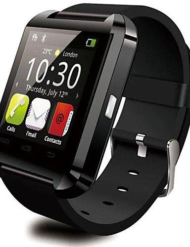 Reloj de pulsera reloj LYF DGZ Bluetooth Smart WU8 reloj para Samsung HTC LG Huawei Xiaomi teléfono Android Smartphones, color rojo-220V: Amazon.es: Relojes