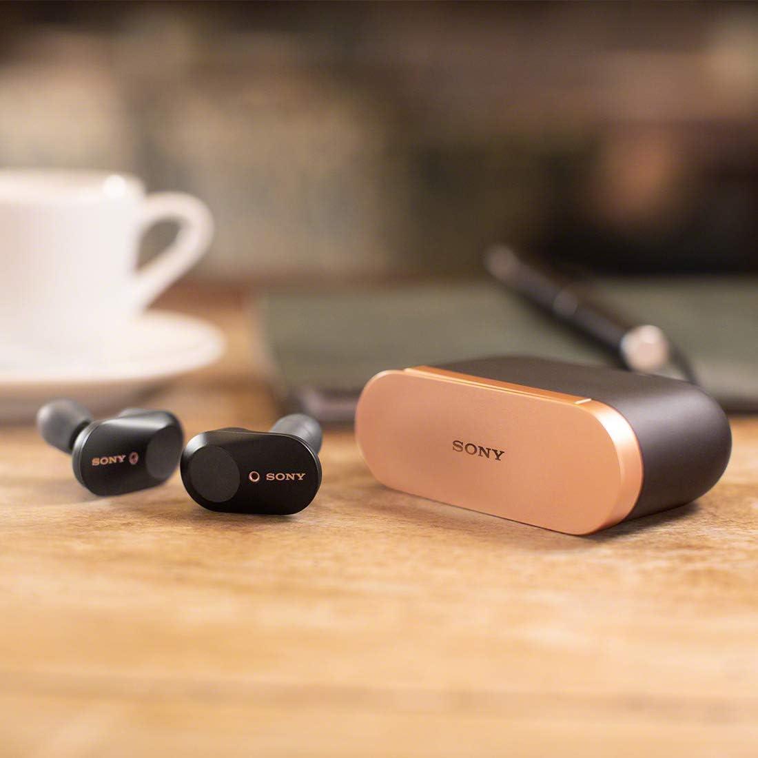 ソニー ワイヤレスノイズキャンセリングイヤホン WF-1000XM3 : 完全ワイヤレス/ Amazon Alexa搭載 /Bluetooth/ハイレゾ相当 最大6時間連続再生 2019年モデル / マイク付き /ブラック WF-1000XM3 B