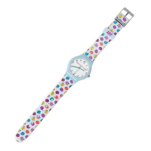 Agatha Ruiz de la Prada Reloj para Mujer Analógico Cuarzo japonés con Correa de Plástico AGR234: Amazon.es: Relojes