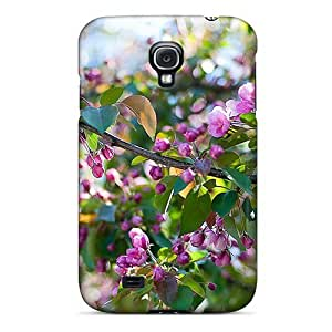 Excellent Design Flowers Case Cover For Galaxy S4