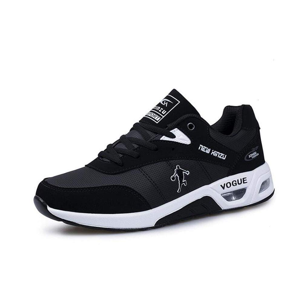 A YAXUAN shoes New Air Cushion Running shoes Youth Non-slip Sneakers Low To Help Basketball shoes Men's Outdoor Casual shoes (color   C, Size   43)