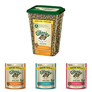 Feline Greenies Variety Pack of 4- 28.5oz