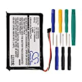 Replacement 361-00035-03 1200mAh Battery for Garmin Nuvi 2595LMT 2555LMT 2555LT 2495LMT 2475LT 2455LMT 2455LT 2405 2405LT 2505 2505LT GPS Navigators With Tool Kits