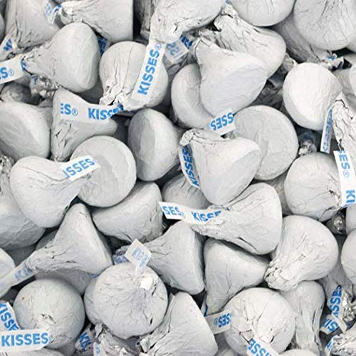 White Hershey's Kisses Candy 1lb