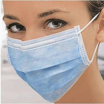Disposable facial mask