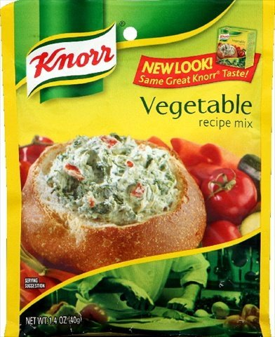 Knorr Vegetable Soup Mix (Unilever Bestfoods Knorr Vegetable Soup Mix, 1.4 Ounce -- 12 Per Case)