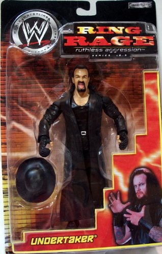 Jakks Pacific WWE Ring Rage Ruthless Aggression ASeries 16.5 Undertaker Figure