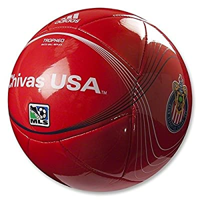 Chivas USA Adidas Tropheo MLS Soccer Ball SIZE #4 (Youth League Size; Ages 8-12). Match Ball Replica. A Quality Ball