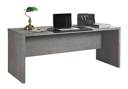 Posizione Scrivania Ufficio : Composad scrivania ufficio moderna color cemento legno unica