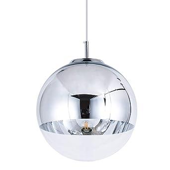 Mini Modern silver//chrome Ball Ceiling Pendant Light Lamp