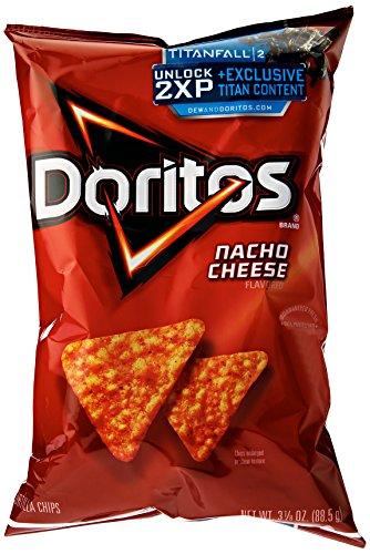 Doritos Flavored Tortilla Chips, Nacho Cheese, 3.125 oz