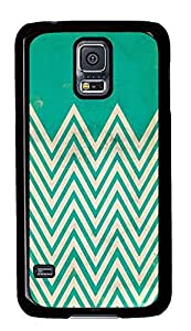 coolest Samsung S5 covers Green Chevrons PC Black Custom Samsung Galaxy S5 Case Cover