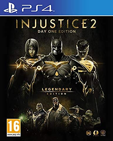 Injustice 2 Legendary Day One Edition PS4 Game (Inc Steelbook ...