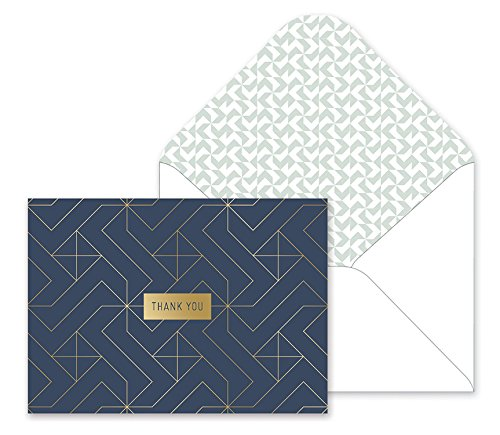 Fringe Studio Boxed Thank You Notes - Pinwheel by Fringe