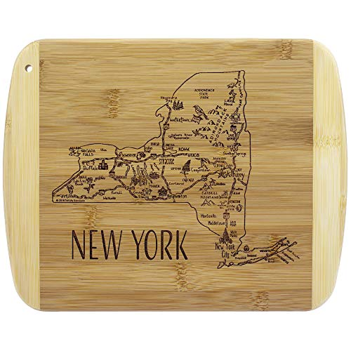 Totally Bamboo A Slice of Life New York Bamboo Serving and Cutting Board