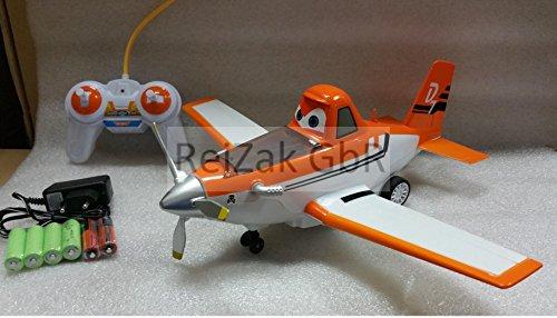 RC Planes Dusty Turbo ferngesteuert Flugzeug, inkl. Akku + Ladegerät