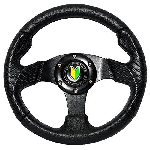 Drift Wheel (Steering Wheel Type 2 280mm Black w/Horn)