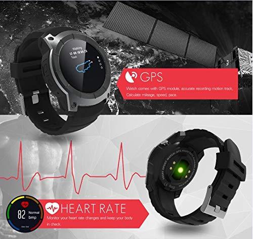 KLAYL Reloj Inteligente Bluetooth GPS Smart Watch S958 Sport ...