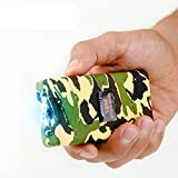 Monster Stun Gun Rechargeable Stun Gun with LED Flashlight, 18,000,000-Volt (Camo)