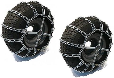 The ROP Shop 2 Link TIRE Chains TENSIONERS 16x65x8 for Yamaha UTV ATV Wheeler Quad Utility