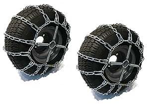 2enlace cadenas de los neumáticos & Tensor 23x 9,5x 12para cortacésped Kubota jardín Tractor por la tienda de Rop