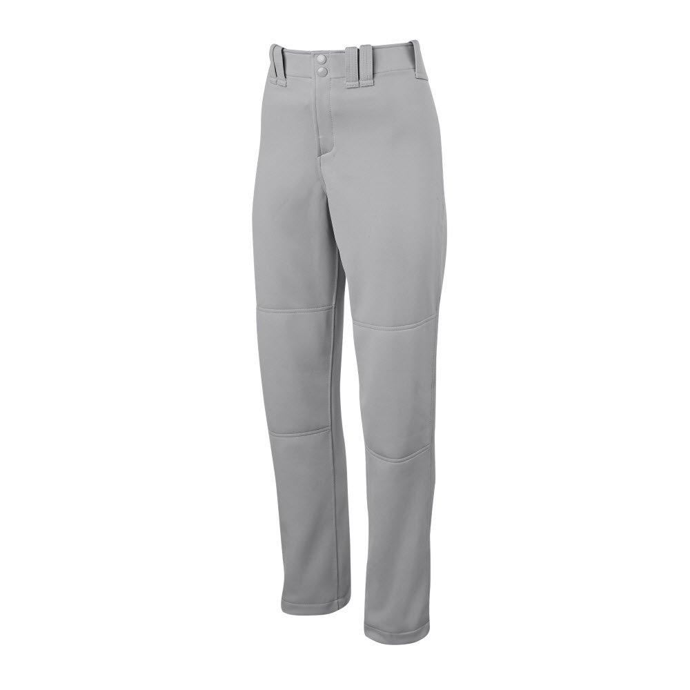 Mizuno Erwachsene Damen Volle Länge Fastpitch Softball Hose mit gesäumten Unterseite offen, grau, Größe XXL B074BZ5HT3 Hosen Schönes Design