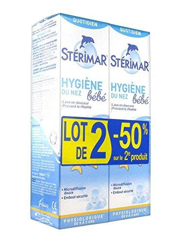 Stérimar Nasal Hygiene Set of 2x100ml by Stérimar (Image #1)