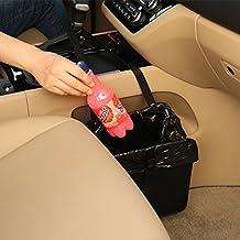 KMMOTORS Jopps Comfortable Car Garbage Can Portable Drive Bin Premium Hanging Wastebasket Seat Back Organizer