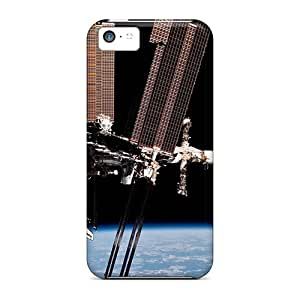 Premium Iphone 5c Cases - Protective Skin - High Quality For International Space Station Outer Space
