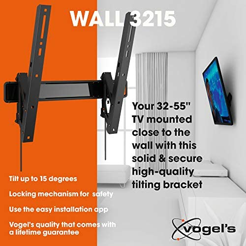 Vogels WALL 3215, Soporte de pared para TV 32: Vogels: Amazon.es ...