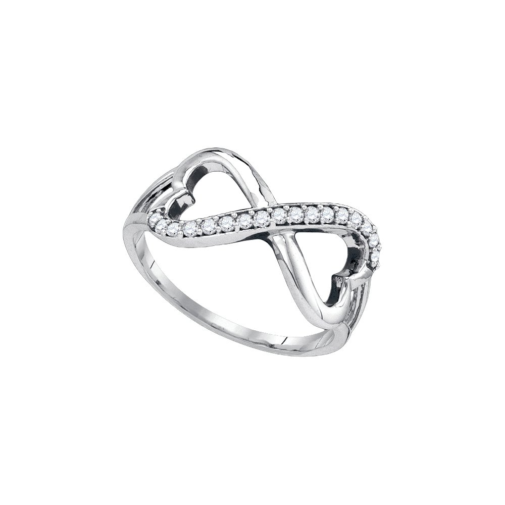 0.17CTW DIAMOND FASHION RING