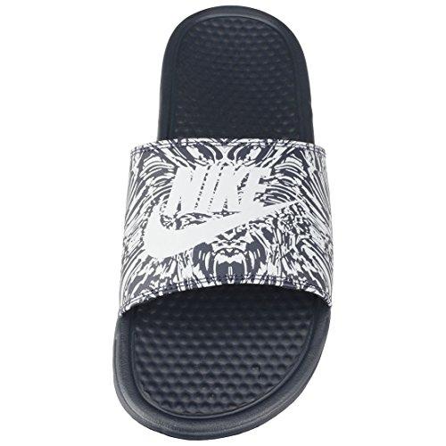 Platinum Jdi 001 pure Nike Ginnastica Print Uomo Basse Da Benassi Scarpe Multicolore obsidian P5qgWqZw