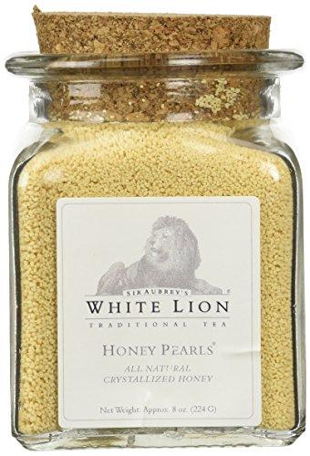 Honey Pearls, 8 Oz Jar, White Lion Tea