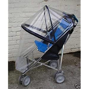 DOABILITY DOBUGGY SPECIAL NEEDS PUSHCHAIR RAINCOVER (CLEAR)