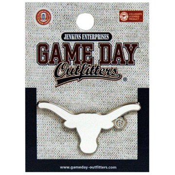 Jenkins Enterprises Texas Longhorns Team Logo Lapel Pin - NCAA Tuxedo Tie Clip (Pins Longhorns Texas)
