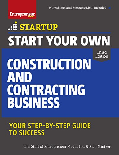 Pdf Home Start Your Own Construction and Contracting Business: Your Step-by-Step Guide to Success (StartUp Series)